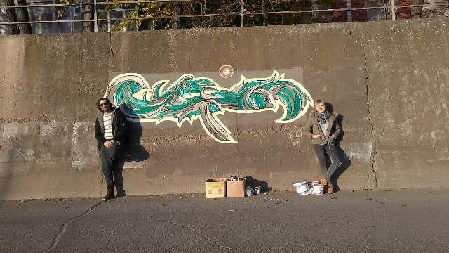 Графити и мурали како дел од  урбаната уметност на градот