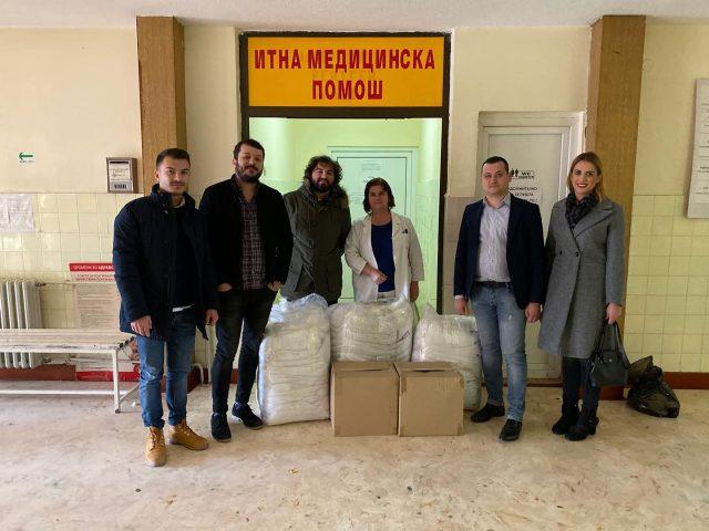 Низа активности на членовите на Ротаракт клубот Кочани- Виница