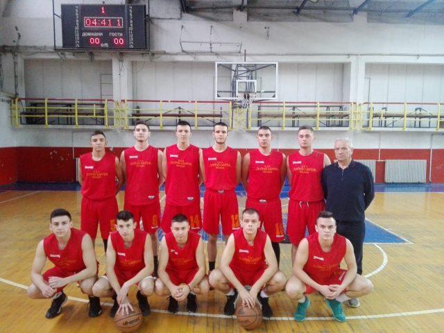 """Екипата на СОУ """"Љупчо Сантов"""" се пласираше на меѓузонските натпревари во кошарка"""