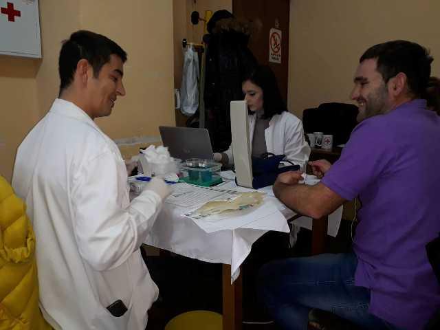 Декемвриска крводарителска акција во Црвен крст Кочани