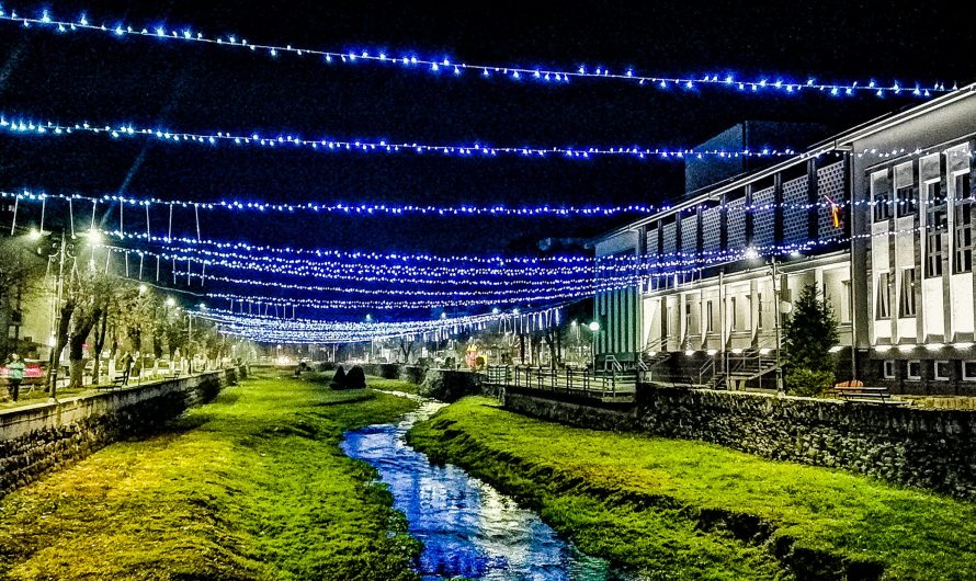 ФОТО ВЕСТ: Кочани блесна во новогодишен сјај