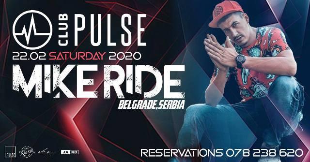 ★★ DJ Mike Ride (Serbia) и DJ Irie Scratch викендов во Club Pulse ★★
