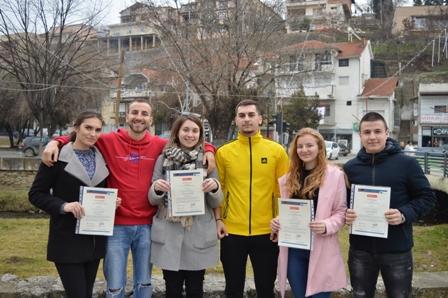 """Младинска размена на волонтери од здружението """"Павел Шатев"""" од Кочани"""
