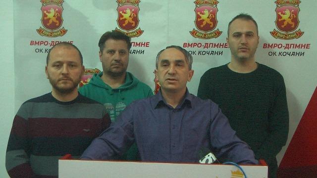 Прес на ОК ВМРО-ДПМНЕ Кочани – СДС веднаш започна со црна кампања