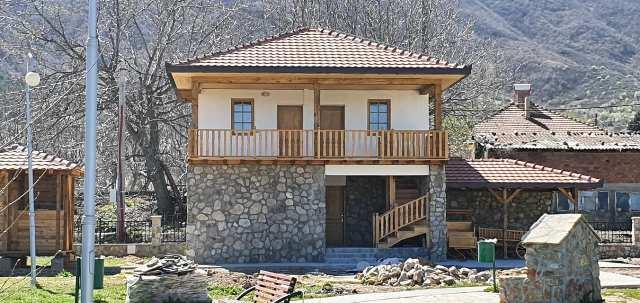 Во Зрновци заврши изградбата на етнокуќа и регионален етнопарк