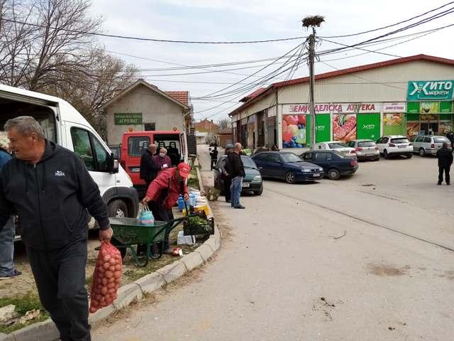 Се тепале  со дрвени предмети за паркинг во Облешево