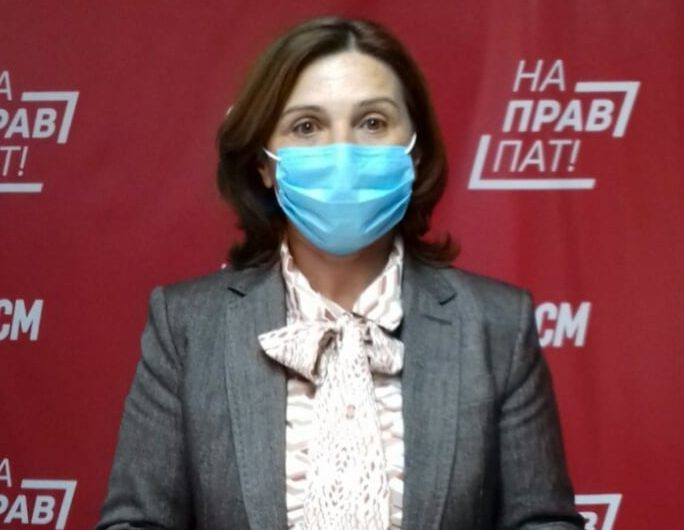 Прес-конференција на ОО на СДСМ Кочани