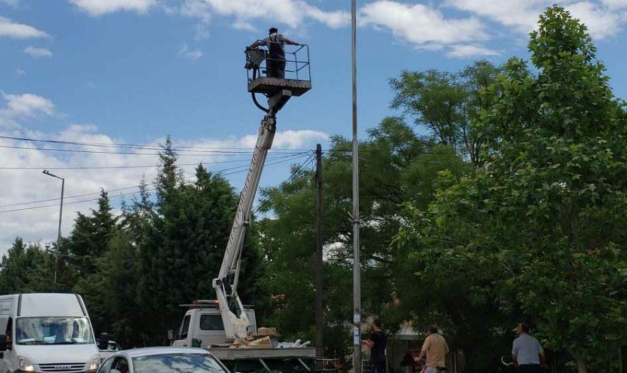 Се обновува јавното осветлување во Општина Чешиново-Облешево
