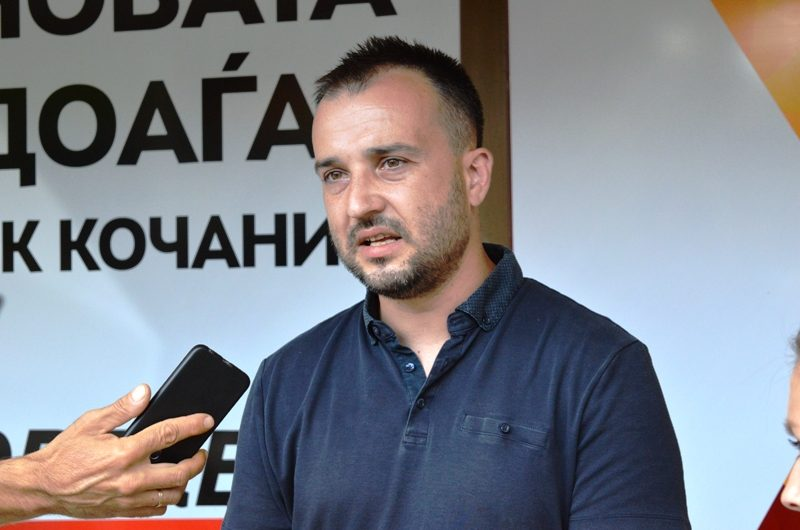 Реакција на Миле Лефков на соопштението на ОО СДСМ Кочани