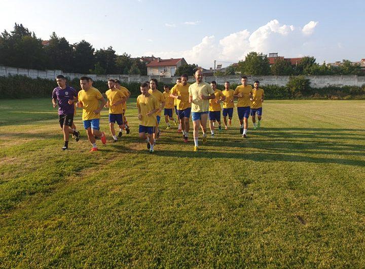 """ГФК""""Осогово"""" ги започна подготовките за новата натпреварувачка сезона"""