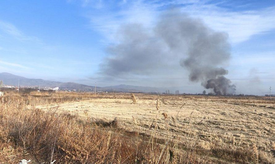 Годинава помалку пожари на отворено од лани – добрите земјоделски пракси можат да го намалат палењето на стрништата