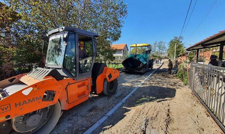 Привршува изградбата на две улици во Чешиново-Облешево