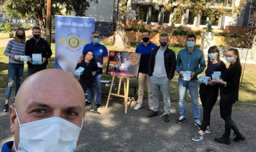 Ротаријанците го одбележаа Светскиот ден за борба против детската парализа