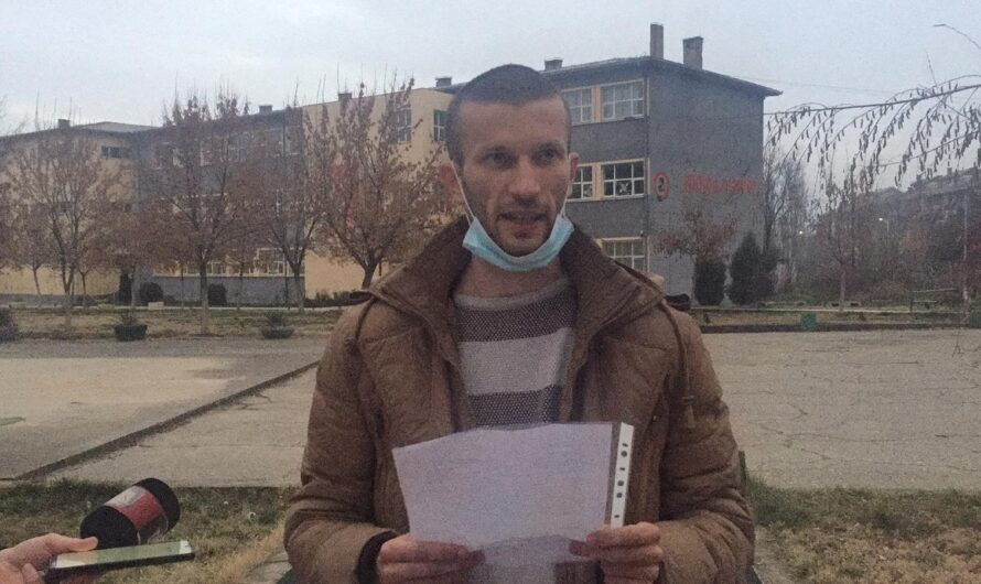 Прес-конференција на ОК на ВМРО-ДПМНЕ Кочани