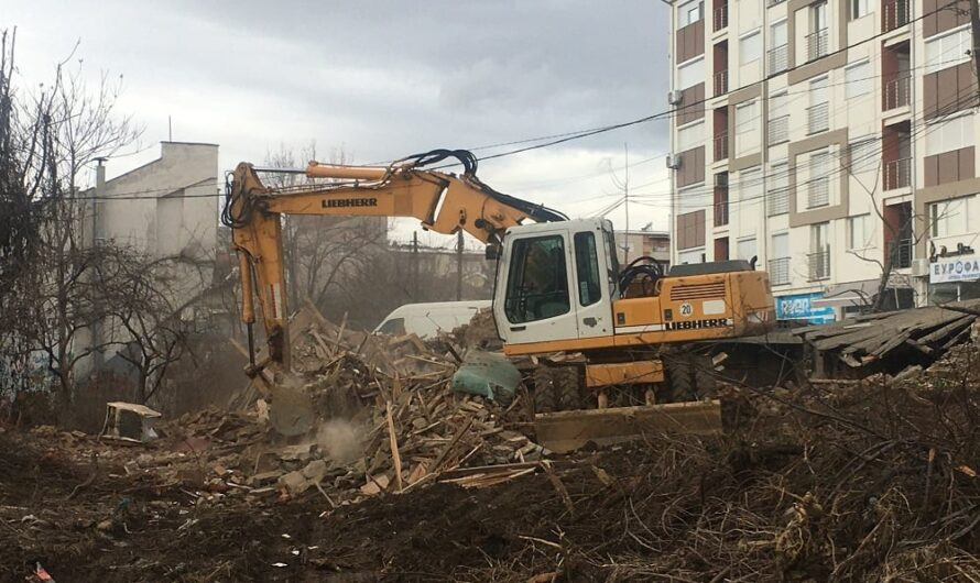 """Се отвора простор за подготвителни градежни активности за втората коловозна лента на улицата """"Стево Теодосиевски"""""""