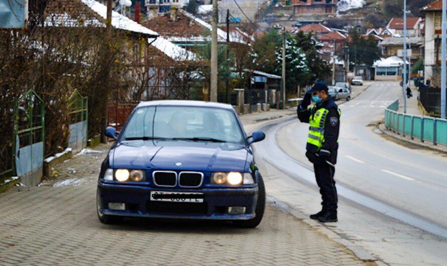 Во Кочани напладне санкциониран возач со над 2 промили алкохол во крвта, полицијата врши засилени контроли