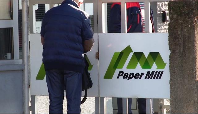 """120-те вработени во """"Пејпар Мил"""" нема да работат до април"""