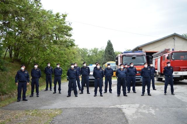 Кочанските пожарникари со 348 интервенции во 2020 година, најголем дел на отворен простор