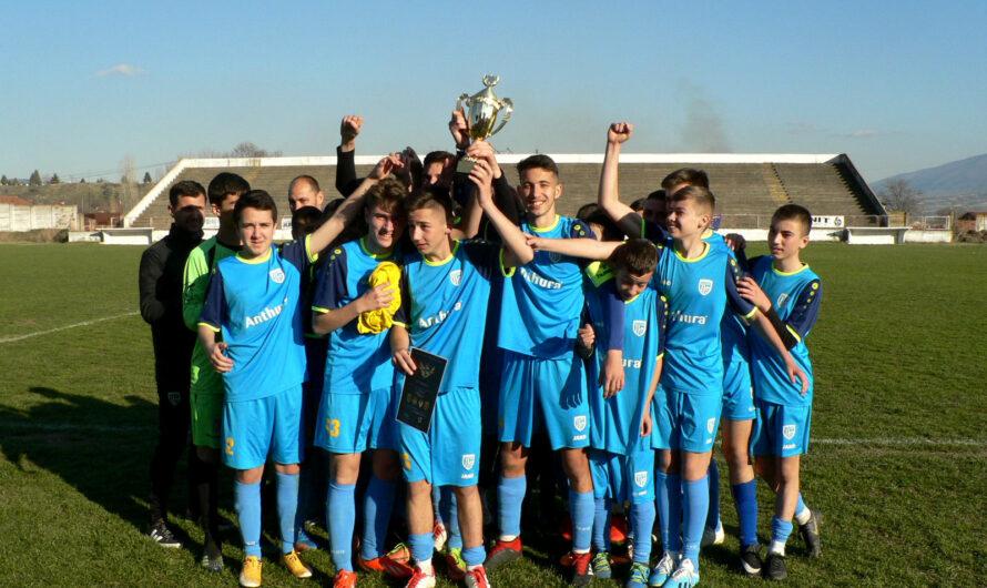 """Младинците на """"Осогово"""" победници на Меморијалниот турнир во фудбал """"Драганица куп 2021"""""""