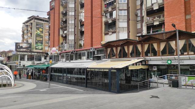 Клуч за угостителските објекти во Трговскиот центар во Кочани