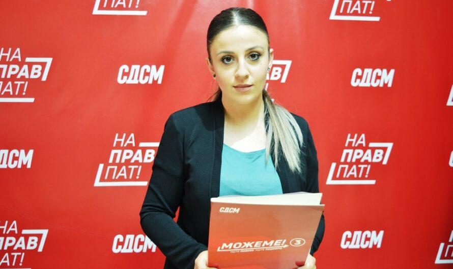 Прес-конференција на ОО СДСМ – Кочани