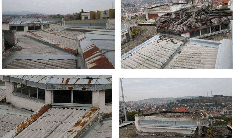 """Претстои реконструкција на кровот и адаптација на тоалет за лица со посебни потреби во ОМУ """"Ристо Јуруков"""""""