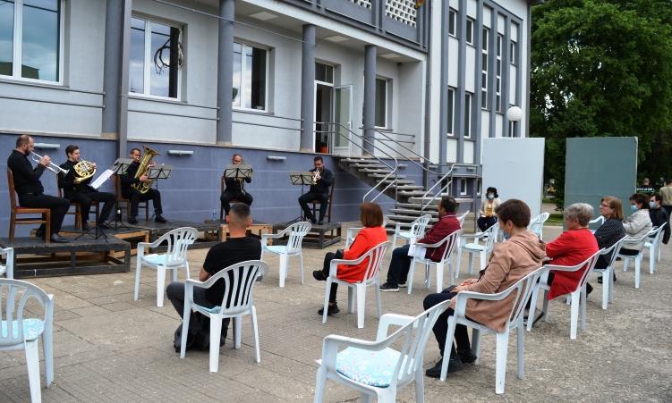 Македонскиот Брас Квинтет  со концерт на отворено во Кочани