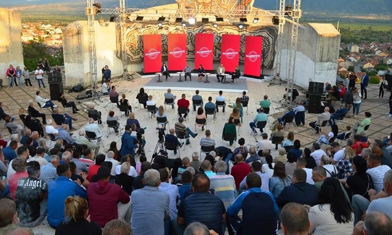 """""""Најдоброто за нашата општина"""" – трибина на СДСМ во Кочани"""