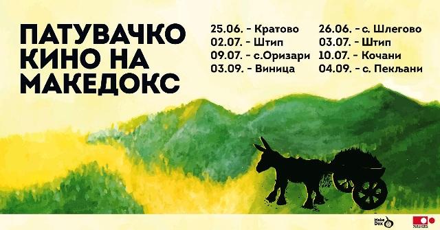 """Патувачкото кино на """"Македокс"""" на 10 јули во Кочани"""