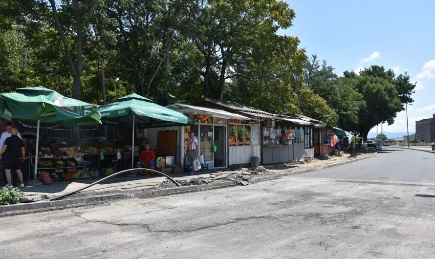 Дислокација на бараките и на зелениот пазар кај Автобуската станица
