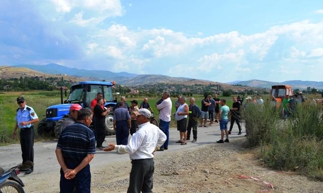 Протест на земјоделците кај Спанчево, бараат пристапен пат до своите ниви
