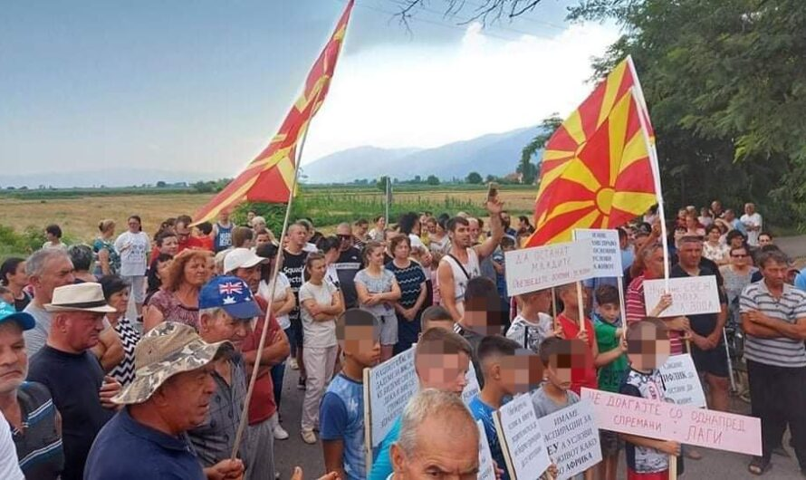 Блокади кај Чифлик, жителите бараат водовод и функционална канализациска мрежа