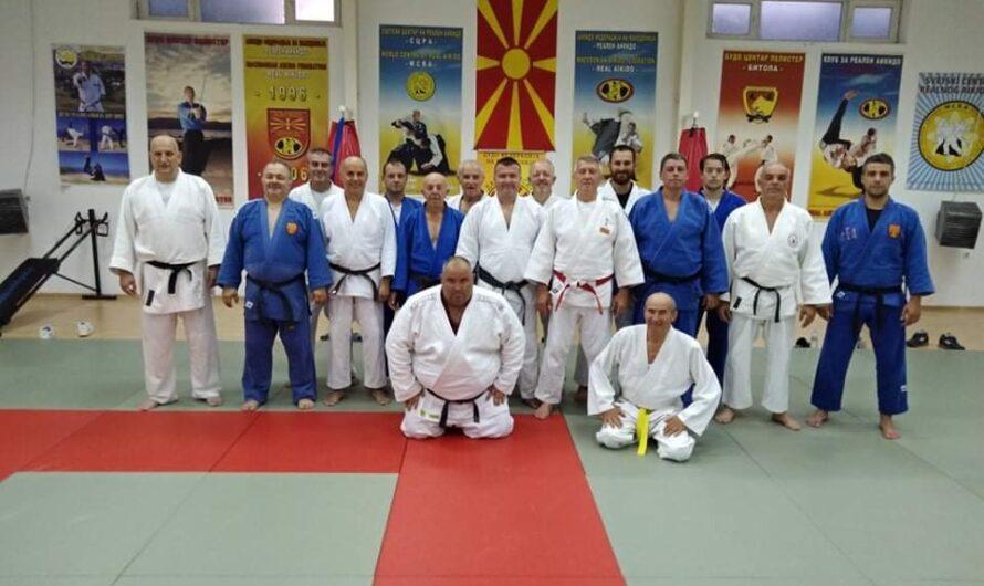 """Џудисти од ЏК """"Гладијатор"""" учесници на едукативен тренинг во Битола"""