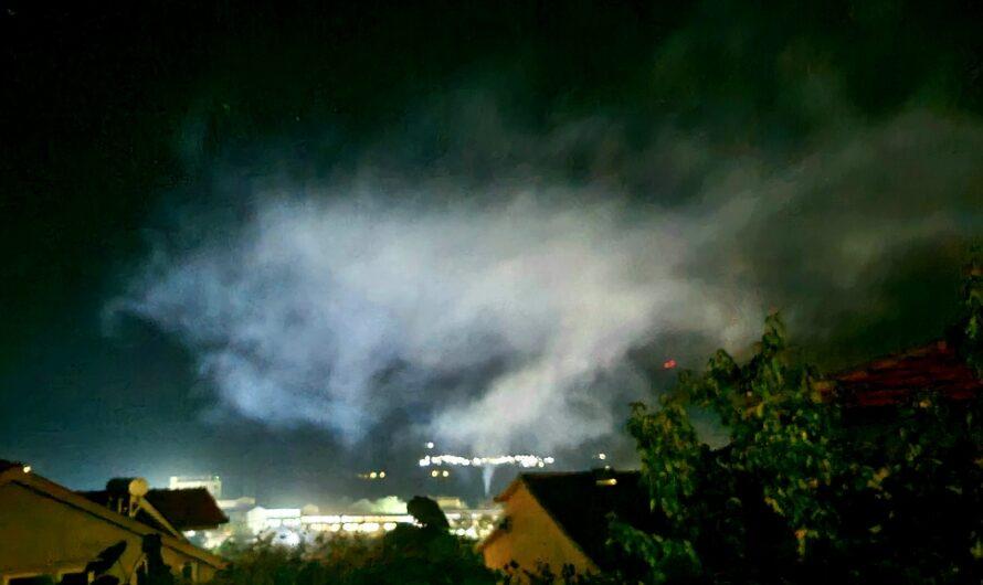 ФОТО ВЕСТ: Кочани во три часот по полноќ