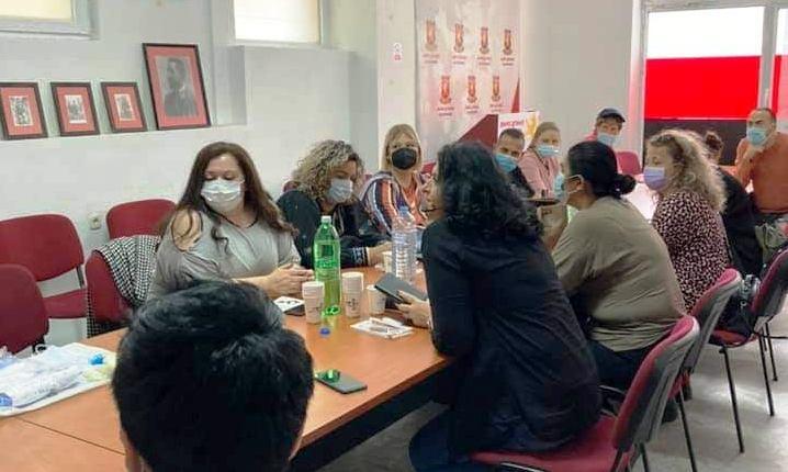 Унијата на жени на ВМРО-ДПМНЕ одржа предавање за постковид компликации и правилно користење на заштитна опрема