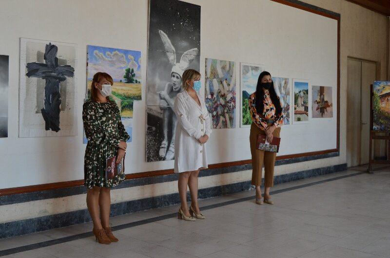 Отворена изложбата на дела од 29. Лесновска ликовна колонија