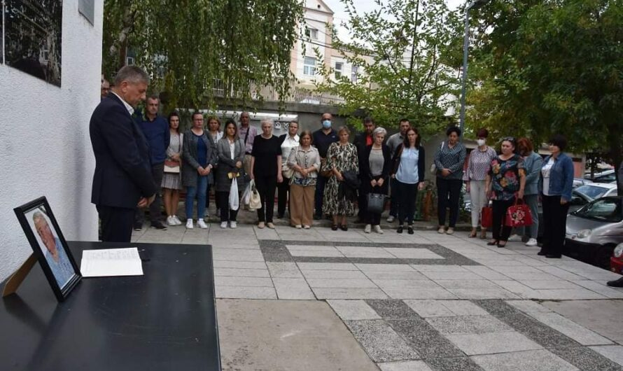 Општинската администрација оддаде последна почит на архитектот Александар Гицов