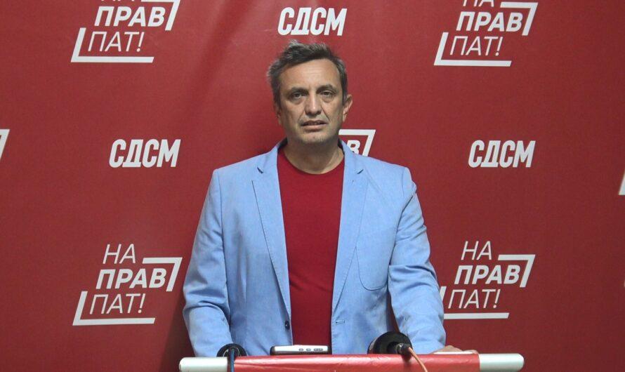 Солевски: СДСМ ја има најдобрата понуда на политичката сцена, разликата со режимот е очигледна, победува најдоброто