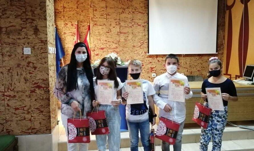 """Доделени признанија на учесници на ликовниот конкурс """"Jiangsu International Youth Painting Contest 2020"""""""