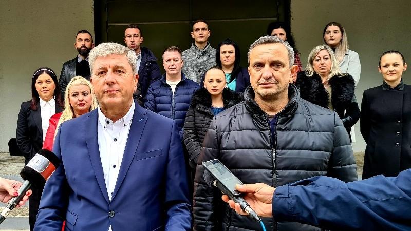 Завршна прес-конференција на Николчо Илијев, кандидат за градоначалник на Кочани од СДСМ и коалицијата