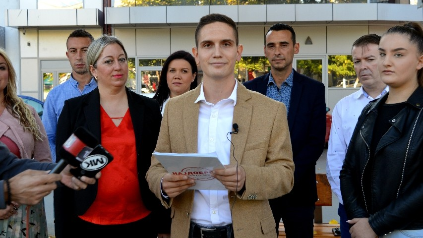 Јовиќ: Вложуваме во младите, а не во спомениците
