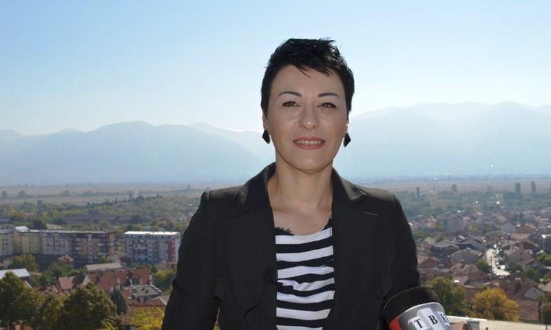 Прес-конференција на Кристина Атанасова Арсова, советничка од ВМРО-ДПМНЕ