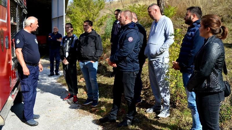Започнаа обуките на членовите на Доброволното противпожарно друштво – Кочани