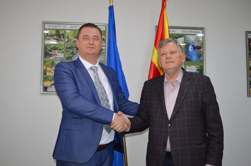 Борчо Коцев ја презема функцијата градоначалник на Општина Зрновци од Блаже Станков