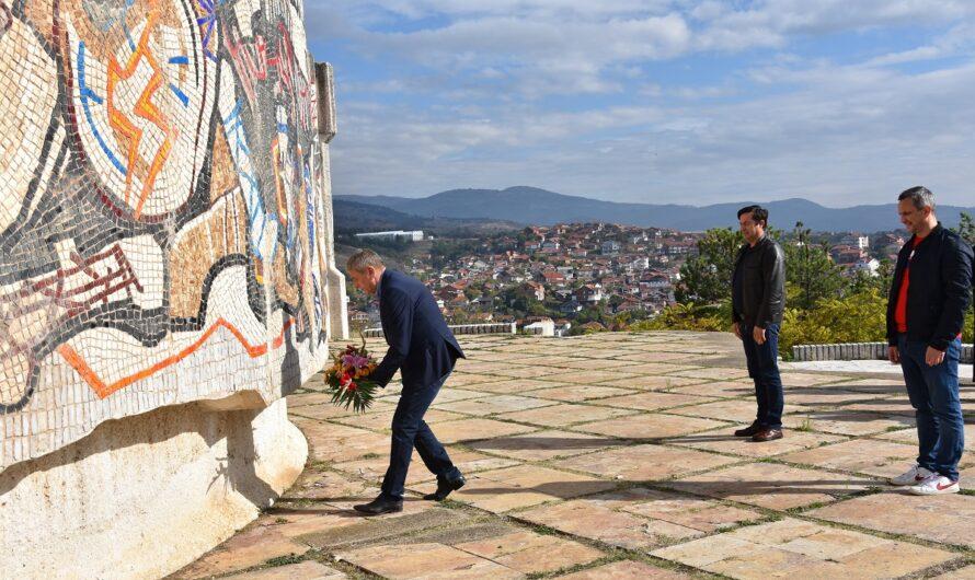 Почит кон револуционерите за Денот на македонската борба