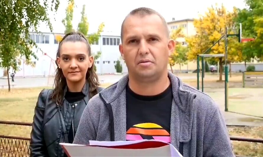 Прес-конференција на  Сашо Постолов, кандидат за советник од ВМРО-ДПМНЕ и коалицијата